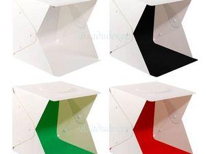"""Акция """"Щедрое предложение"""" на фотобокс PhotoStudio куб размер 30x30 и 40x40 см. Ярмарка Мастеров - ручная работа, handmade."""