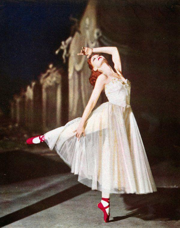 сильфида, балерина