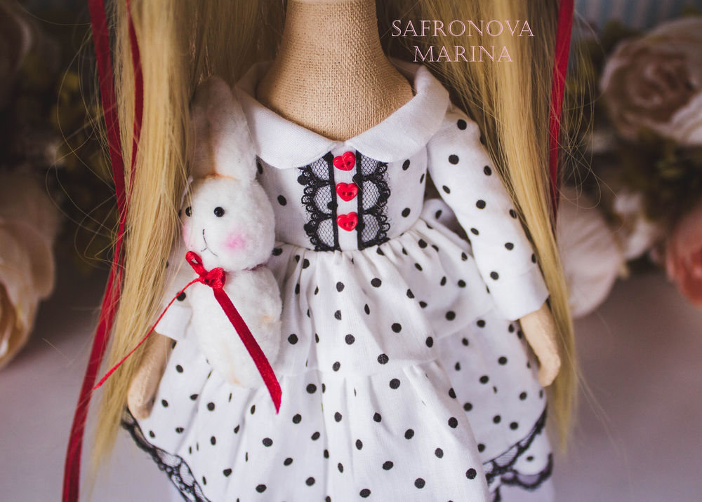 купить подарок любимой, купить интерьерная кукла