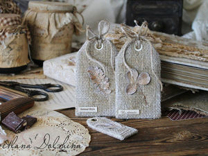 How to Make Fabric Tags for Your Crafts. Livemaster - handmade