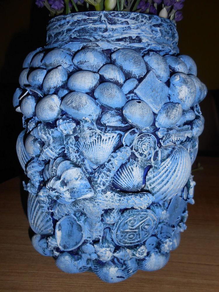 море, ваза, хендмейд, сувенир с моря