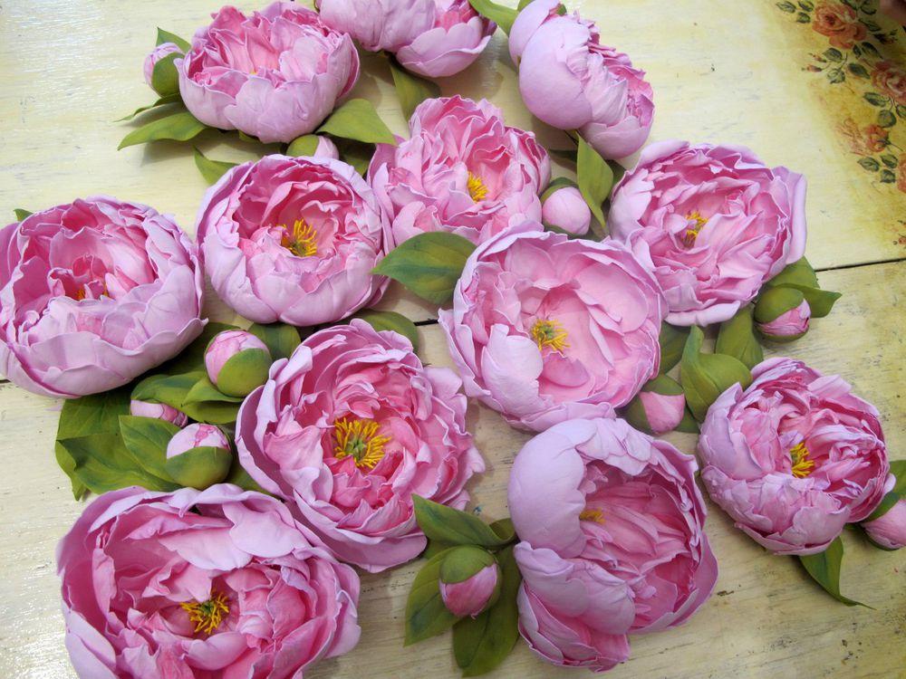 брошь-цветок, флористика