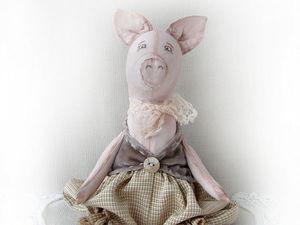 Символ 2019 года, свинья!. Ярмарка Мастеров - ручная работа, handmade.