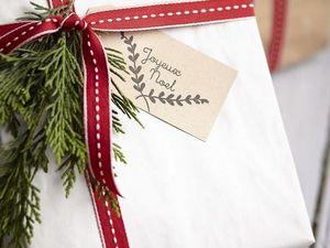 Как оригинально упаковать новогодний подарок своими руками. Ярмарка Мастеров - ручная работа, handmade.