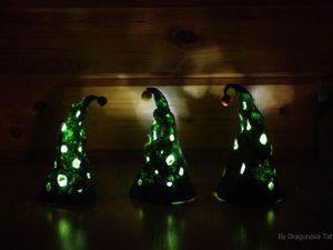 Мастер-класс по изготовлению новогоднего светильника-елочки | Ярмарка Мастеров - ручная работа, handmade