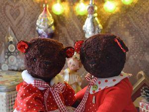 Новогодние мишки.. Ярмарка Мастеров - ручная работа, handmade.
