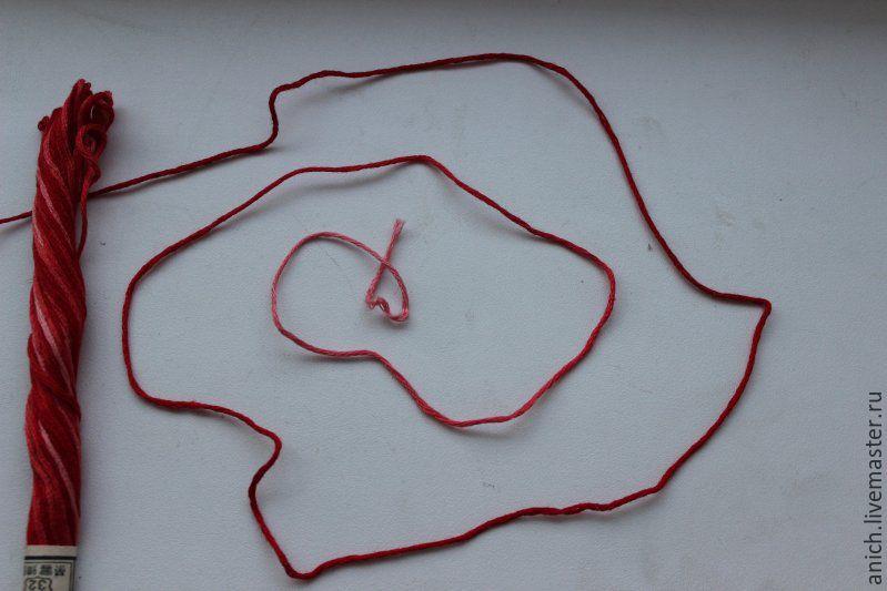 Вышивка на машинке нитки