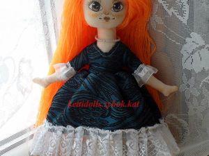 Шьем куколку босоножку. Часть 1: тело. Ярмарка Мастеров - ручная работа, handmade.