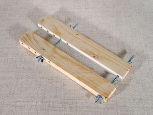 Как изготовить самодельные струбцины для работы с кожей. Ярмарка Мастеров - ручная работа, handmade.