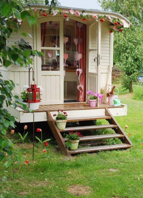 Train car guest house