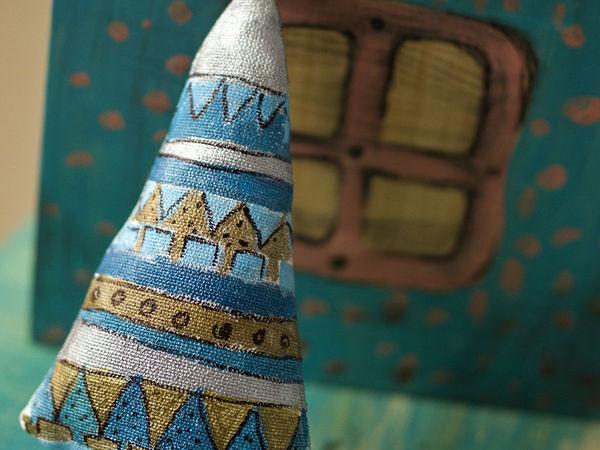 Шьем симпатичные ёлочки-подвески   Ярмарка Мастеров - ручная работа, handmade