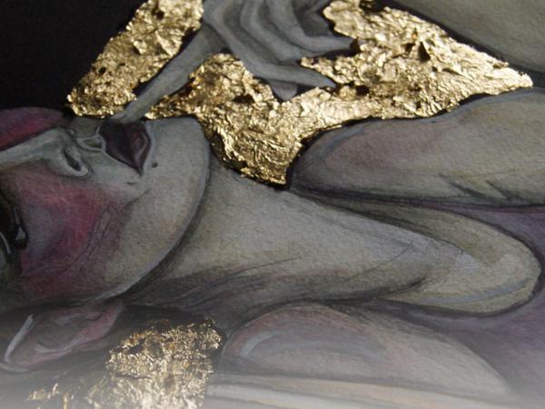 Новая серия распродаж на сентябрь! Black'n'gold | Ярмарка Мастеров - ручная работа, handmade