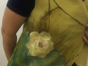 Отчет мк по росписи войлочных изделий. Ярмарка Мастеров - ручная работа, handmade.