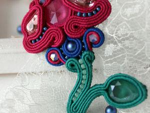 Создаем сутажную брошь «Цветок для принцессы». Ярмарка Мастеров - ручная работа, handmade.