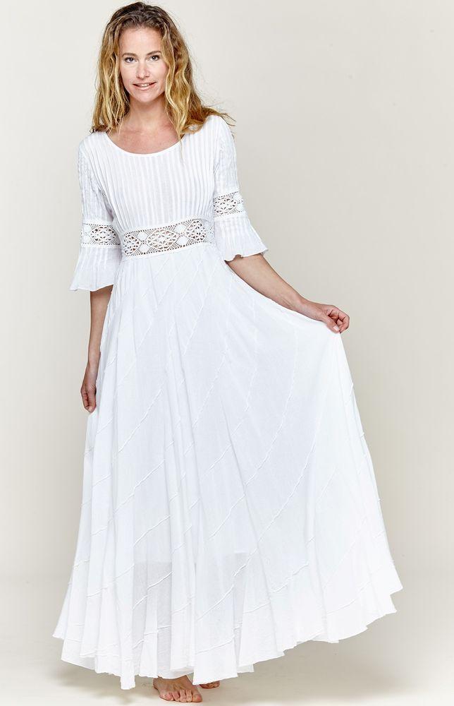 Белое бохо, или Шикарная одежда для королевы летнего пляжа, фото № 87