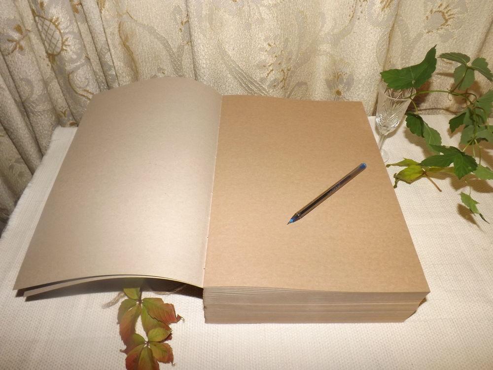 блокнот с нуля, блокноты ручной работы