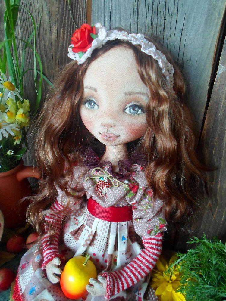 кукла текстильная, кукла на заказ