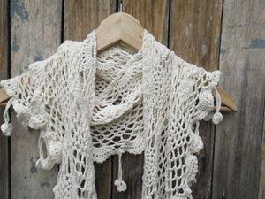 Новинка. Летний шарфик, бохо. | Ярмарка Мастеров - ручная работа, handmade