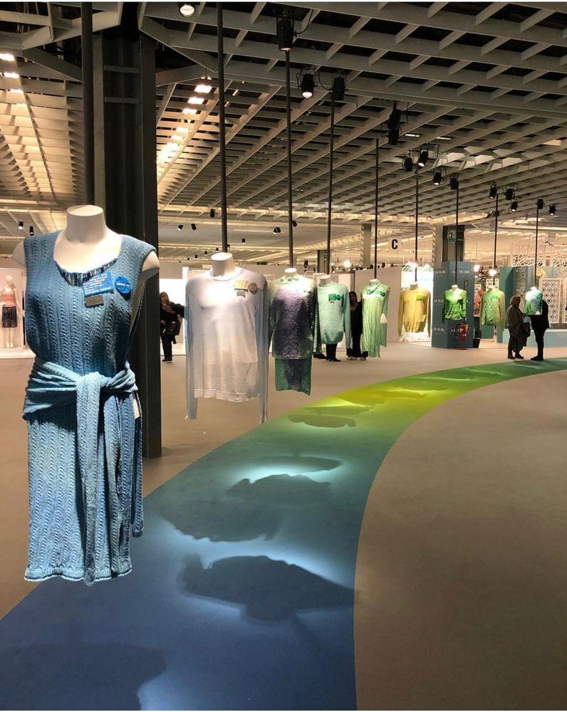 выставка моды, модный трикотаж, красота