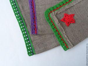 Делаем новогодний мешочек для подарка. Ярмарка Мастеров - ручная работа, handmade.