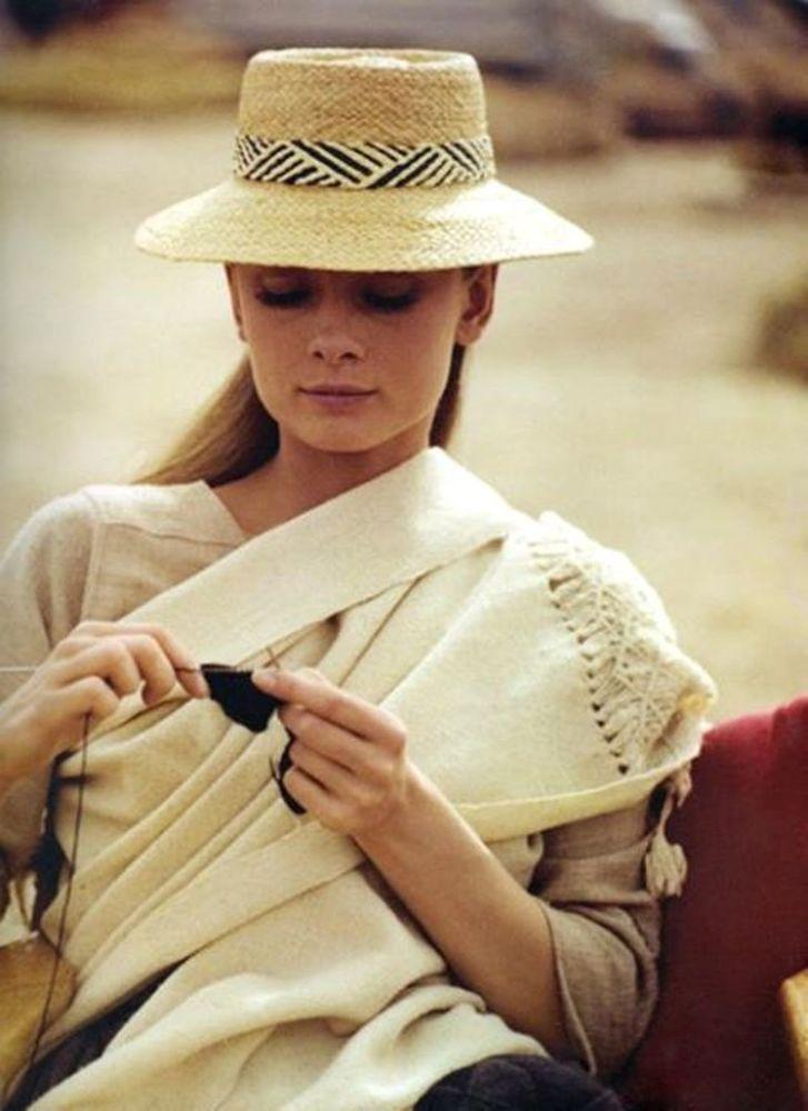 ручное вязание пальто