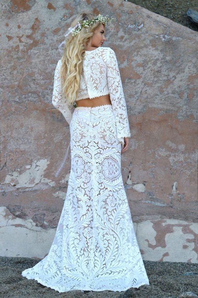 irish crochet dress