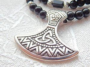 Молот Тора - скандинавский оберег. Ярмарка Мастеров - ручная работа, handmade.