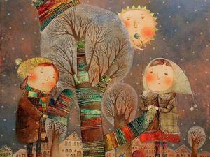 Шахматно-райский Аукцион на снуд и шарф и розыгрыш!!!!)). Ярмарка Мастеров - ручная работа, handmade.