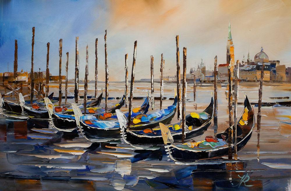 венеция, скидка 10%, живопись маслом, картина со скидкой, подарок со смыслом