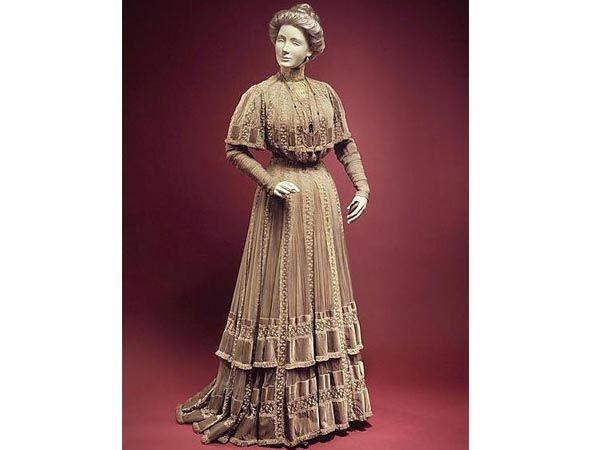 платья конца xix века