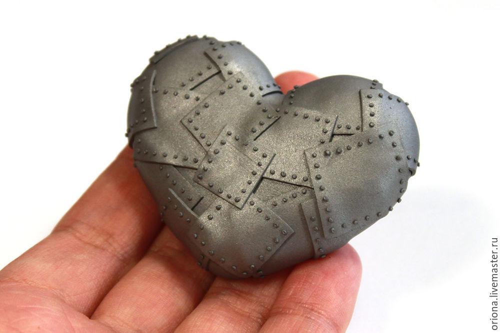 полимерная глина, как сделать брошь