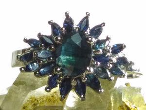 Видео кольцо с сапфирами. Ярмарка Мастеров - ручная работа, handmade.