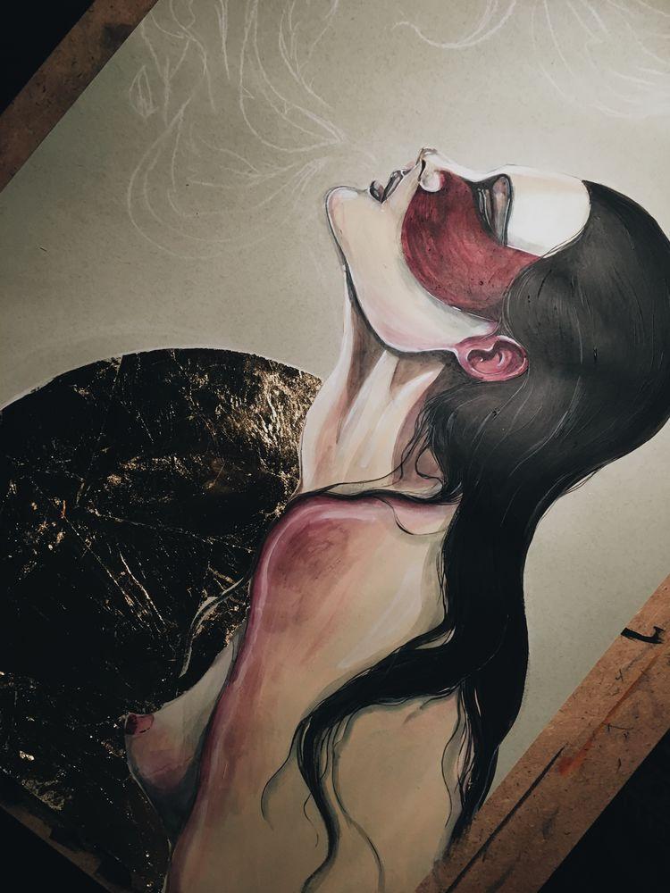 женщины томской, любовь, секс, о жизни, краска