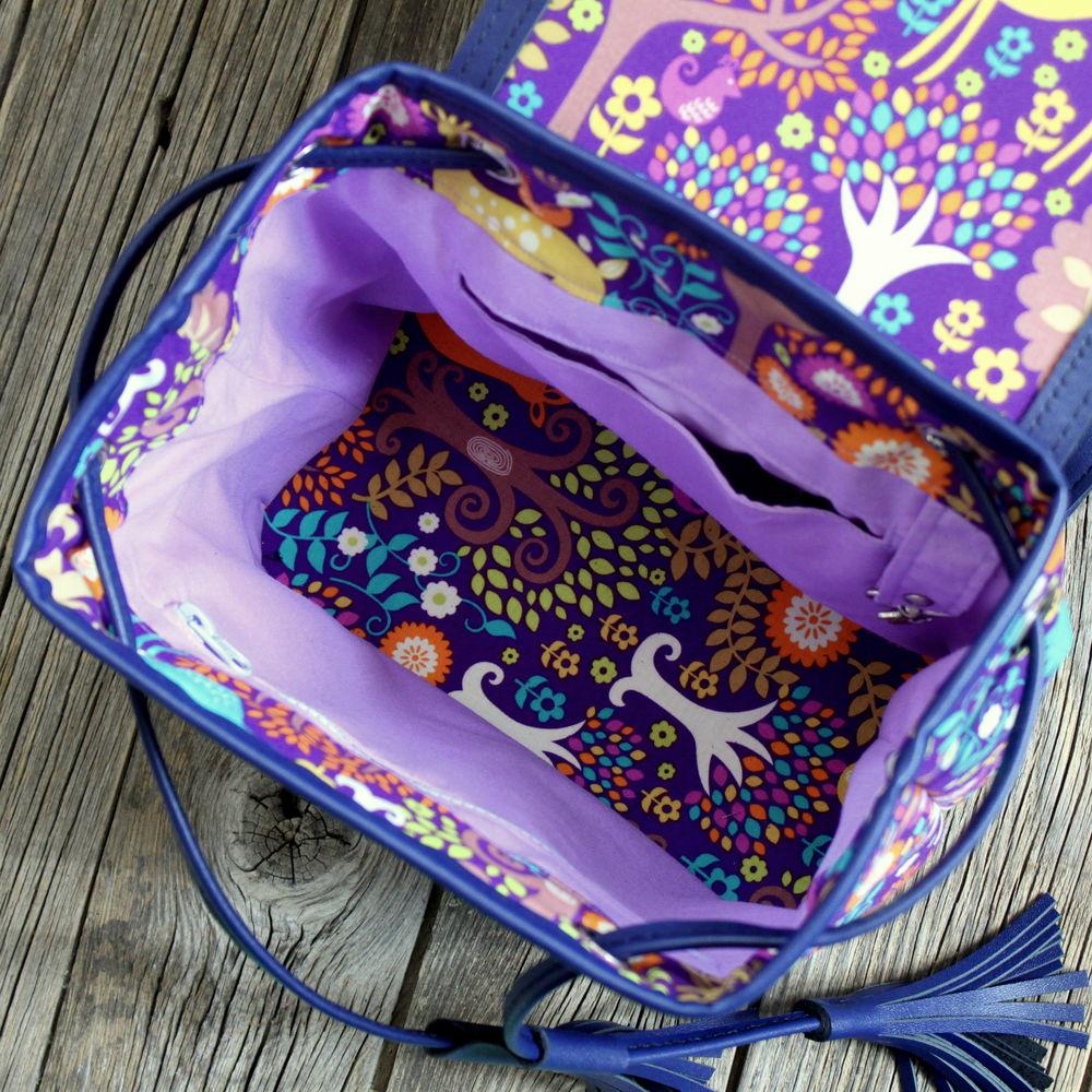 рюкзак для девочки, косули