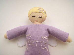 Мастер-класс: шьём куклу-сплюшку ангела из фетра. Ярмарка Мастеров - ручная работа, handmade.