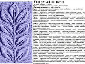 30 ажурных узоров спицами: варианты со схемами. Ярмарка Мастеров - ручная работа, handmade.
