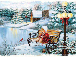 С первым днем зимы. Ярмарка Мастеров - ручная работа, handmade.