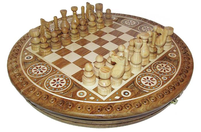 аукцион, шахматы инкрустированные