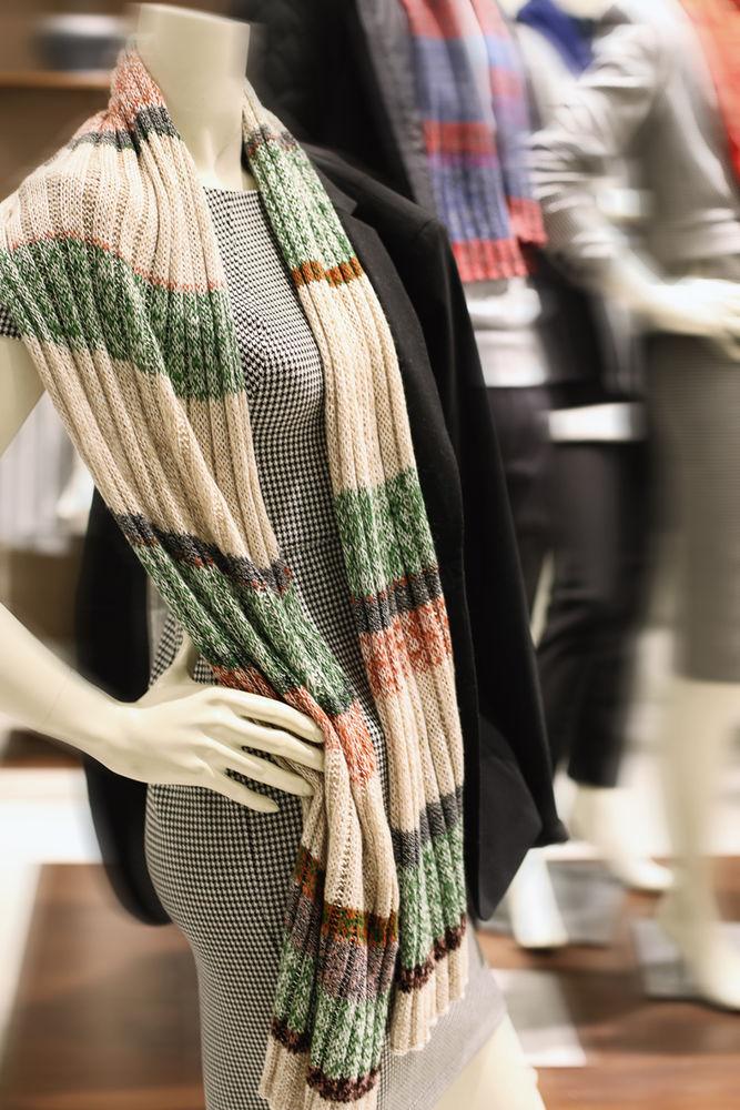 шарфы зимние