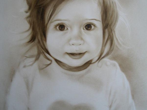 Взгляд художника на портрет | Ярмарка Мастеров - ручная работа, handmade