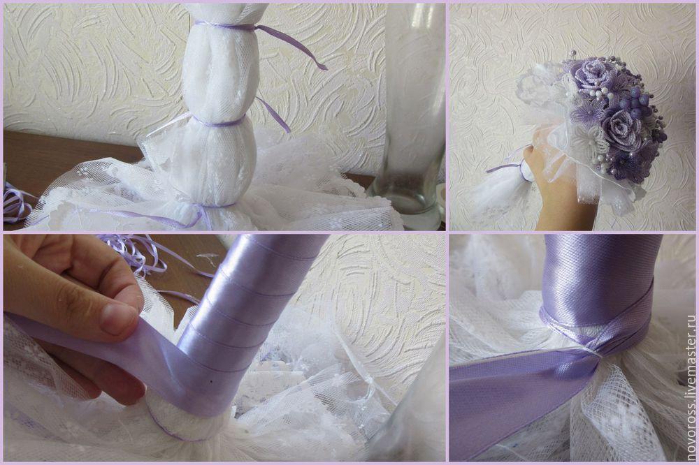 НАША СТРАНА МАСТЕРОВ: Создаем нежный букет в технике французского плетения
