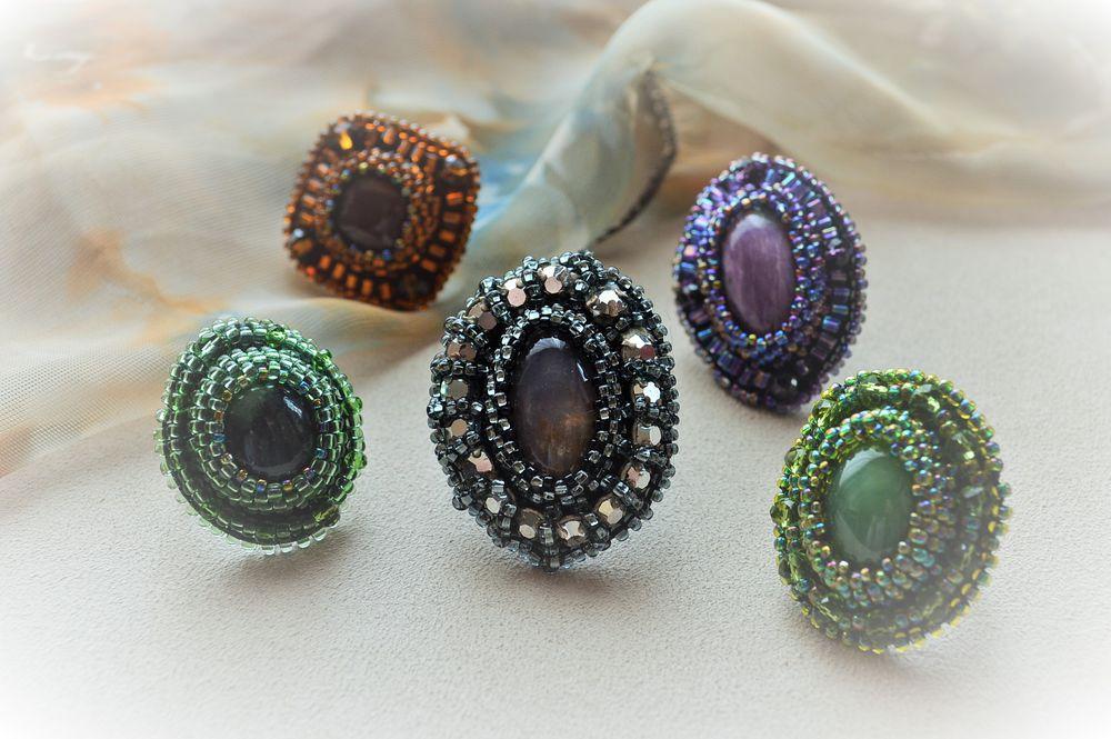 бисерные украшения, жемчуг натуральный