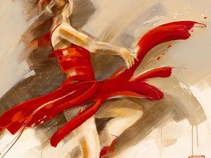 В ритме танца: картины художницы Kitty Meijerin. Ярмарка Мастеров - ручная работа, handmade.