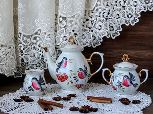 Снегири, снегири... Ярмарка Мастеров - ручная работа, handmade.