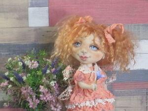 Новая куколка - поцелованная солнцем.   Ярмарка Мастеров - ручная работа, handmade