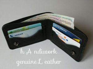 Мужской кошелек из натуральной кожи: как выбрать хороший бумажник или портмоне. Ярмарка Мастеров - ручная работа, handmade.