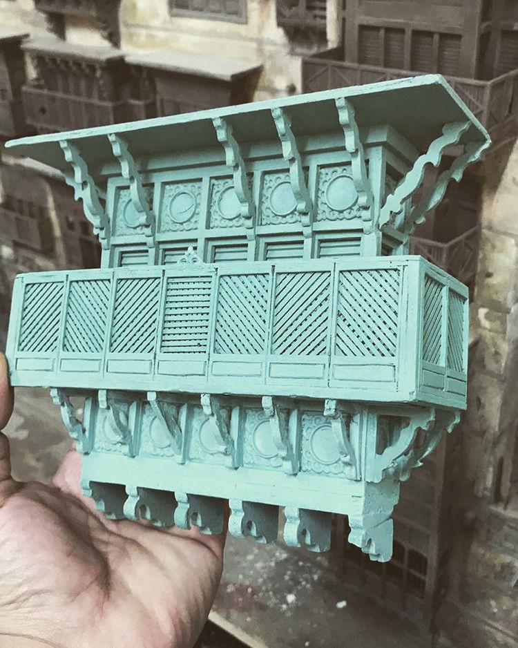 Город на ладони: невероятная миниатюра от Abdulrahman Eid