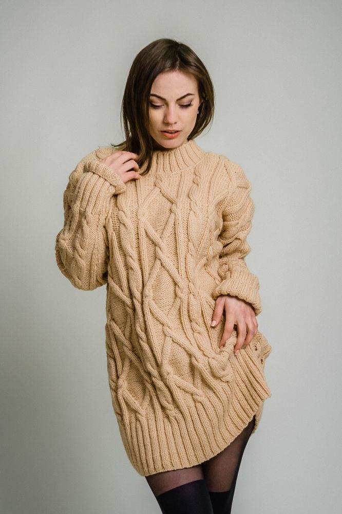 вязаное платье, акция магазина