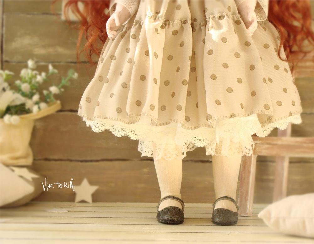 коллекционная кукла, детство
