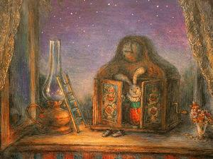 Юрий Норштейн и его тихая история, которая случилась зимним вечером. Ярмарка Мастеров - ручная работа, handmade.